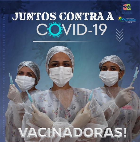 Vacinação Avança em São Valério Equipe de Imunização Recebe Capacitação para Manuseio da Vacina Pfizer!