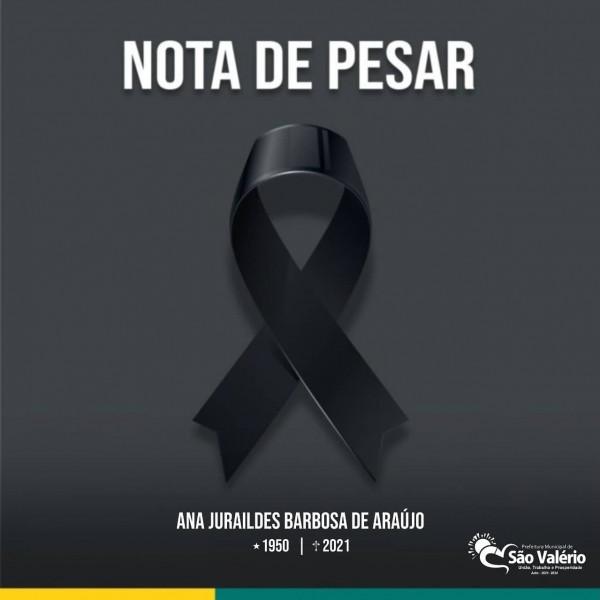 NOTA DE PESAR!