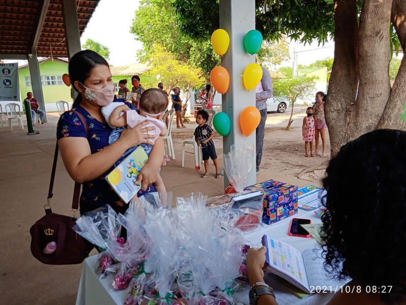 """Secretaria de Saúde Realiza Dia """"D"""" Contra a Influenza (Gripe) no Mês das Crianças!"""