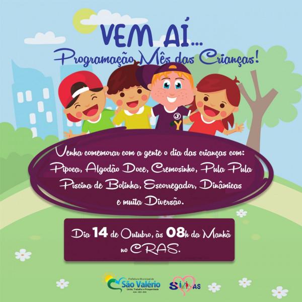 Secretaria da Assistência Social Realiza Manhã de Diversão para as Crianças no Nosso Município!